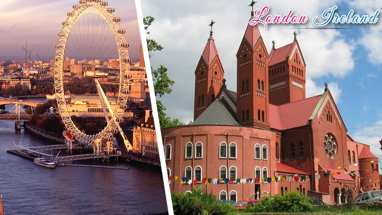 london ireland holiday tour packages