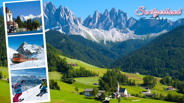luxury switzerland holiday tour packages