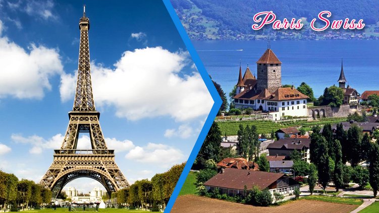 paris switzerland holiday tour packages