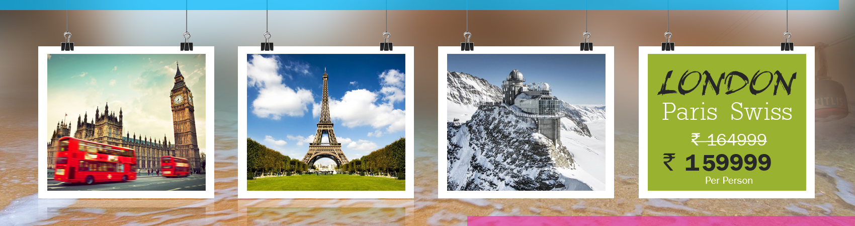 London Paris Swiss Tour Packages
